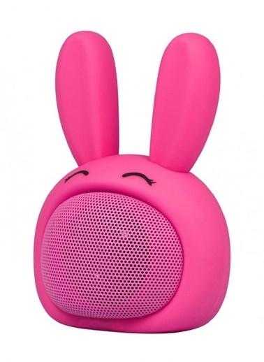 iCutes Pembe Tavşan Mini Rabbit Kablosuz Bluetooth Hoparlör M815 Pembe